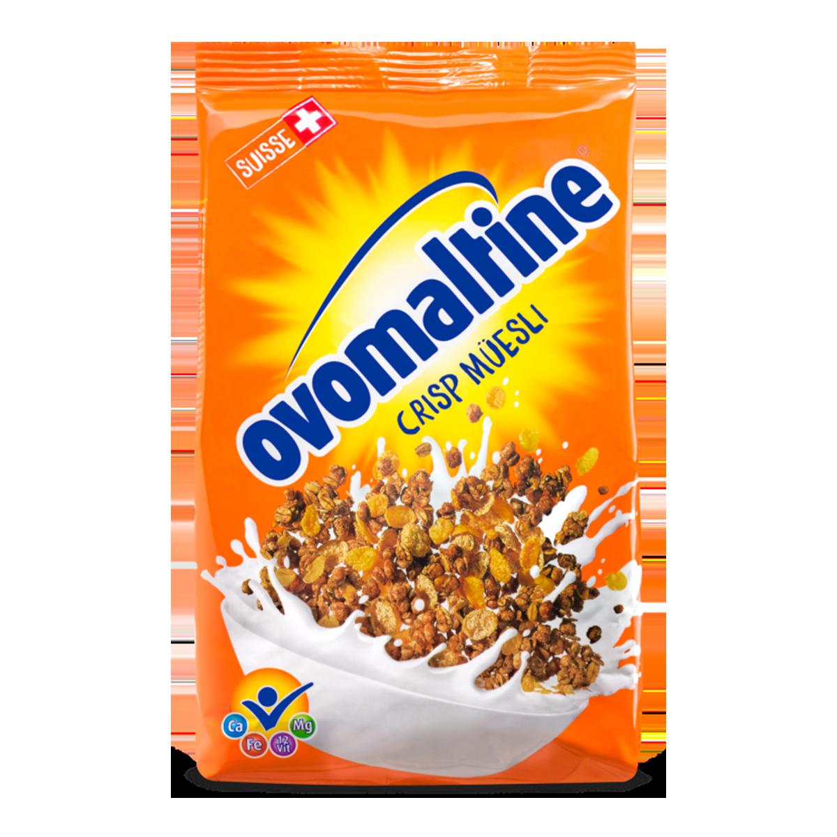 Ovomaltine Crisp Müesli 500 g
