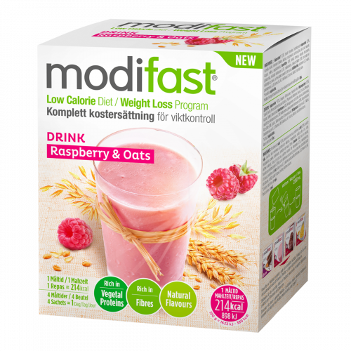 Modifast Natural Drink Oat & Raspberry