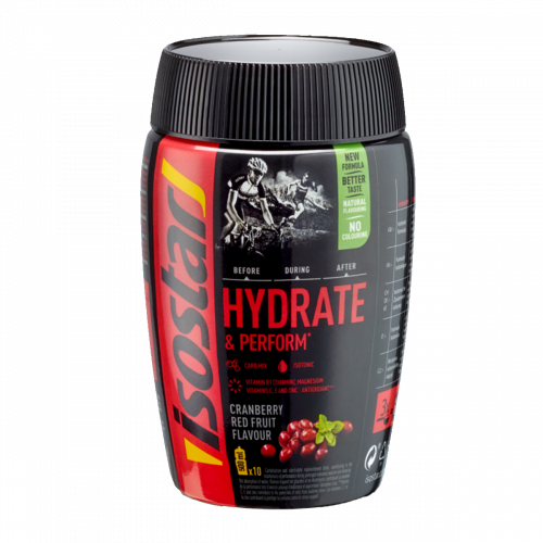 Isostar Hydrate&Perform Cranberry Red Fruits